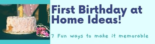 first birthday at home;