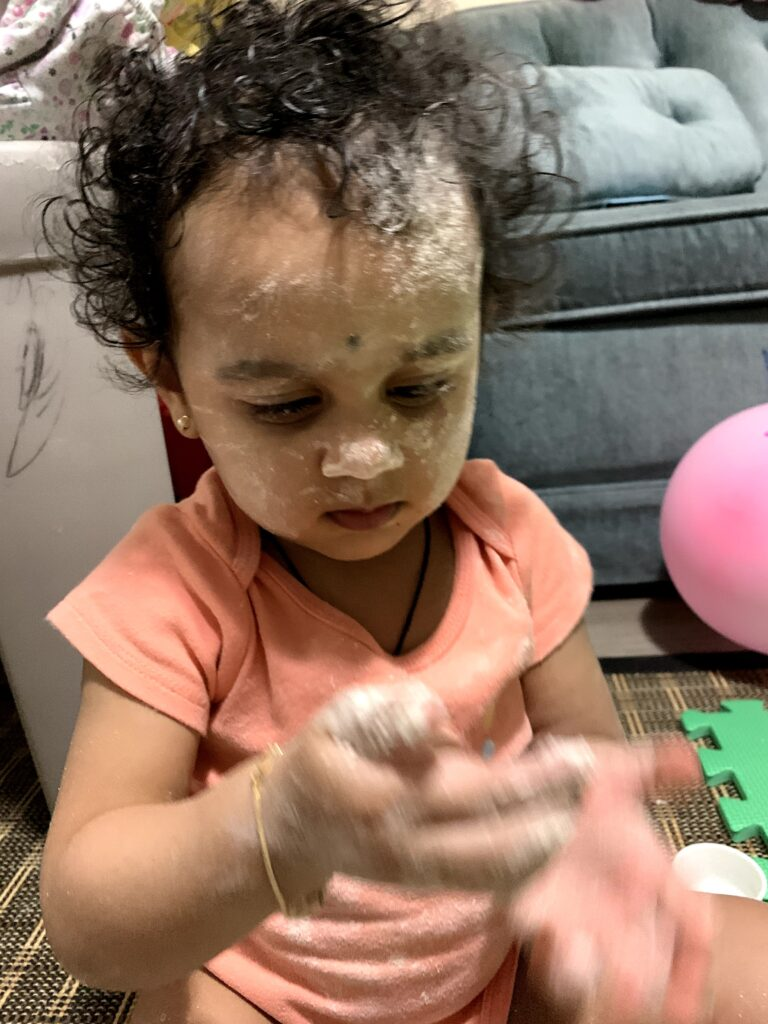 entertaining toddler; toddler activities at home; easy & simple activities at home
